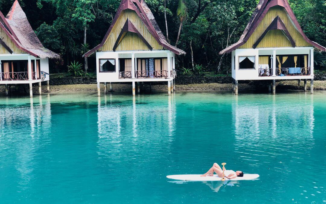 A Lagoon Paradise in Club Tara, Surigao